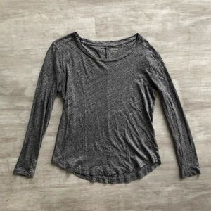 ✨ Madewell Gray Top Size S